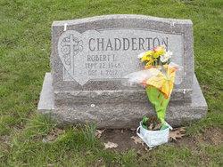 Robert Louis Chadderton, Jr
