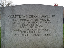 Courtenay Chirm Davis, Jr