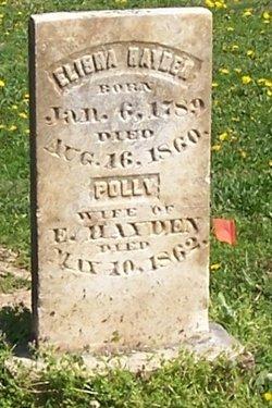 Mrs Mary Ann Polly <i>Harris</i> Hayden
