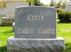 Louisa <i>Irvin</i> Wade