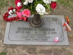 Estefana Calderon