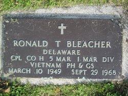 Corp Ronald Thomas Bleacher