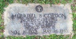 Murriell B Gordon