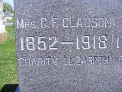 Charity Elizabeth <i>Ellison</i> Clauson