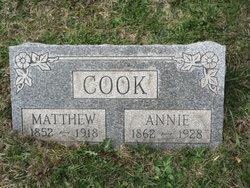 Annie <i>McIntyre</i> Cook