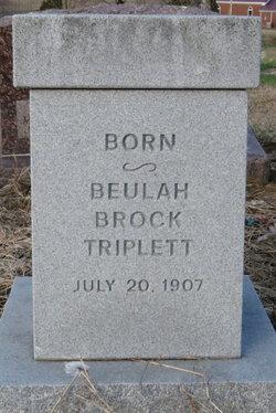 Beulah Brock <i>Triplett</i> Dickerson