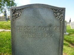 Rosa Cecelia Rose <i>Jehle</i> Fowler