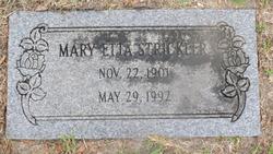 Mary Etta <i>Crews</i> Strickler