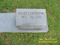 Minnie L Creekmore