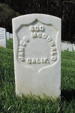 Pvt James McDonald