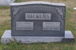 Martha Catherine Polly <i>Houck</i> Dickens