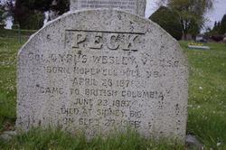 Cyrus Wesley Peck