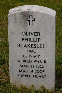 Oliver Phillip Phil Blakeslee