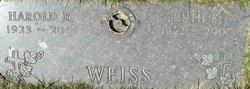 Ruth F. <i>Tomczak</i> Weiss