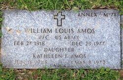PFC William Louis Amos