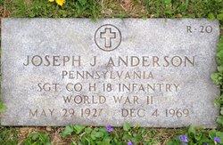 Sgt Joseph J. Anderson