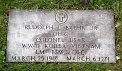 COL Rudolph L. Baehr, Jr