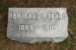 Rev Isaac S Yerks