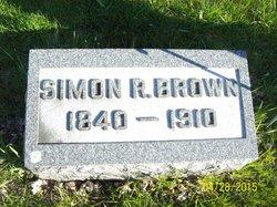 Pvt Simon Rinehart Brown