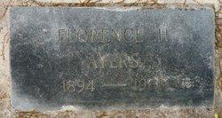Florence <i>Hardy</i> Ayers