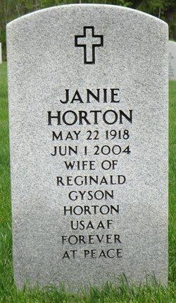 Janie Horton