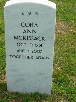 Cora Ann Mckissack