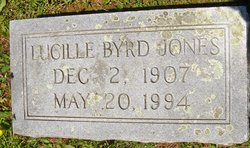 Lucille <i>Byrd</i> Jones