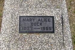 Mary Alice <i>George</i> Buck
