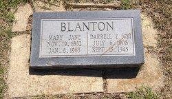 Darrell E Cy Blanton
