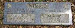 Sgt George Gladstone Nimmo
