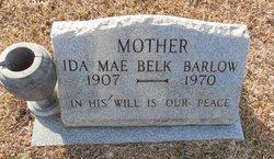 Ida Mae <i>Belk</i> Barlow