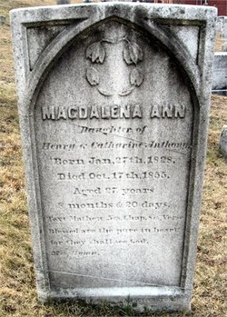 Magdalena Ann Molly Anthony