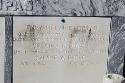 Emma Melanie <i>Morgan</i> Dupas