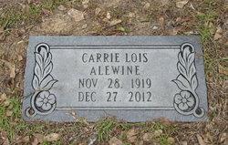 Carrie Lois Alewine