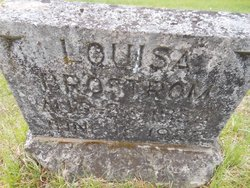 Louisa <i>Dahlberg</i> Brostrom
