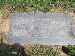 Hattie Belle <i>Marshall</i> Elliott