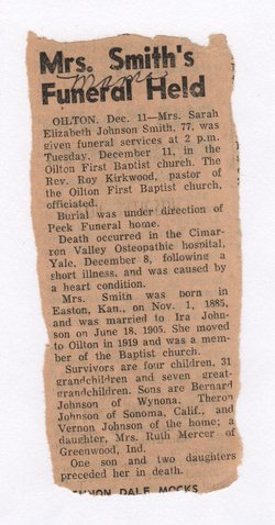 Martha Elizabeth <i>Wilburn</i> Johnson