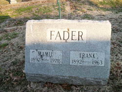 Mary Adeleine Mamie <i>Korves</i> Fader