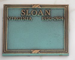Virginia Ann <i>Porrazzo</i> Sloan