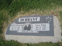 Lucy <i>Snow</i> Durrant
