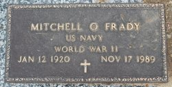 Mitchell O Frady