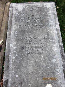 Harriet <i>Cornelius</i> Dickson