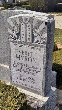 Everett Bo Myron