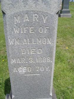 Mary <i>Dawes</i> Allmon