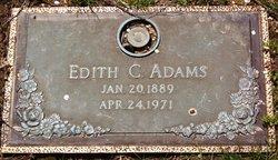 Edith C <i>Clift</i> Adams