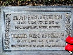 Oralee <i>Webb</i> Anderson