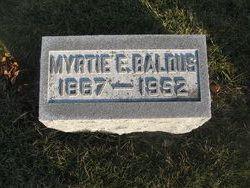 Myrtie Emeline <i>Cole</i> Baldus