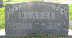 Frank L Blaske