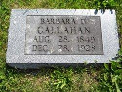 Barbara Davis <i>Nazworthy</i> Callahan