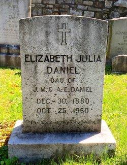 Elizabeth Julia Daniel